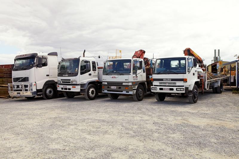 Sunstate Delivery Service Trucks