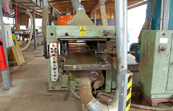Dowel machine that can produce hardwood dowel