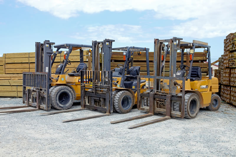 Forklifts For Timber Loading