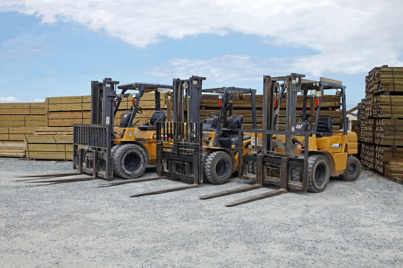 Forklifts For Lifting Timber