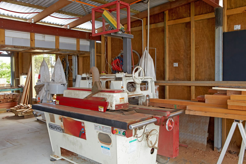 Laser Guided Rip Saw