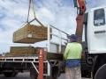 Delivering Timber Wood
