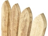 Pine Gothic Profiled Top Fence Paling