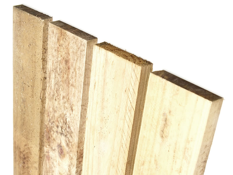 Treated Pine Fence Palings – Batten Top Image