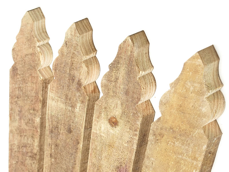 Treated Pine Fence Palings – Windsor Profiled Top Image
