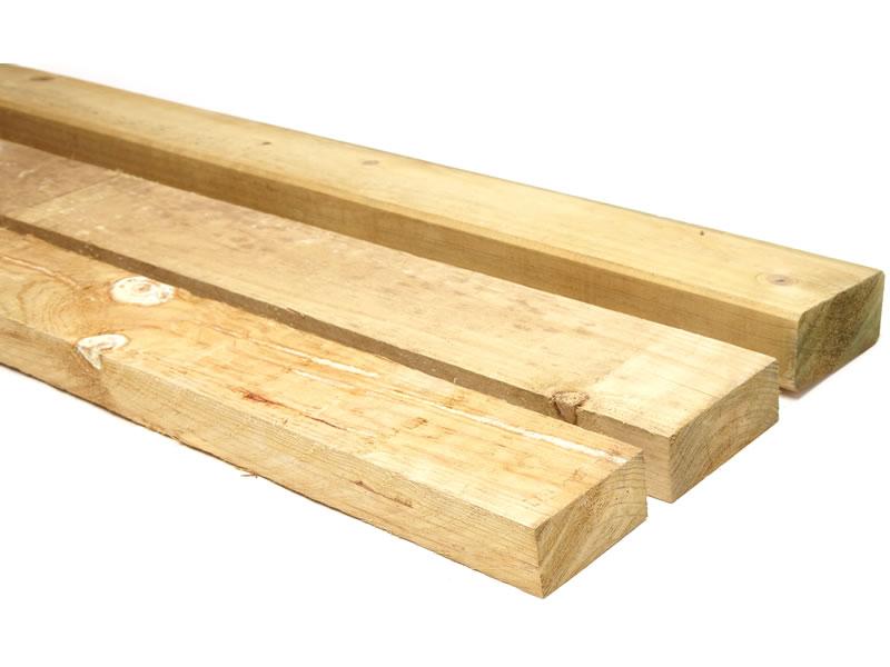 CCA Treated Pine Fence Rails Image