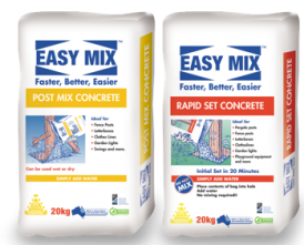 20 Kg Rapid Set Concrete And Post Mix Concrete Bags