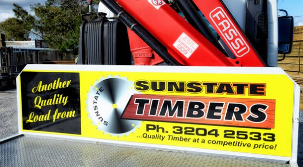 Sunstate Timber Contact Number Ad Banner