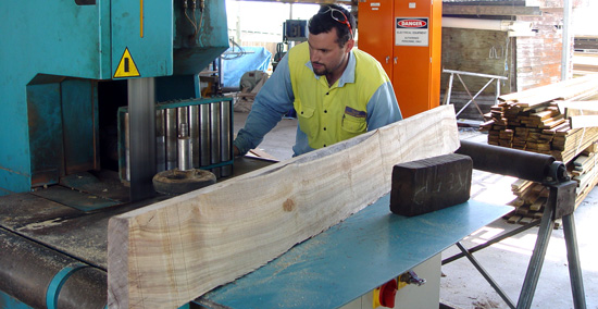 custom machining timber